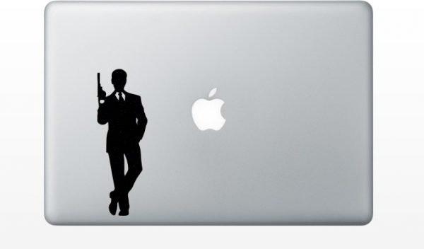 007 macbook decal