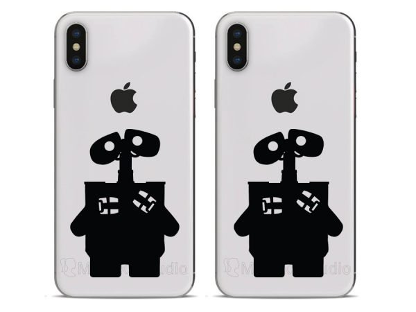 wall e phone decals
