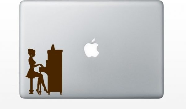 pianist mcbook sticker