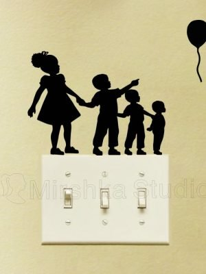 African american wall decal