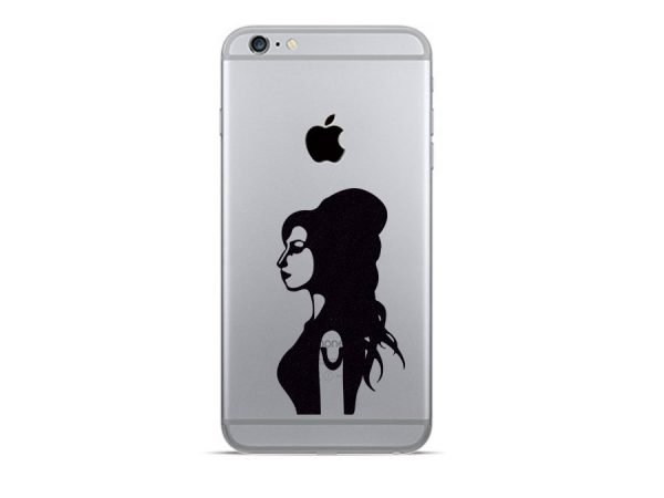 Amy Winehouse iphone decal