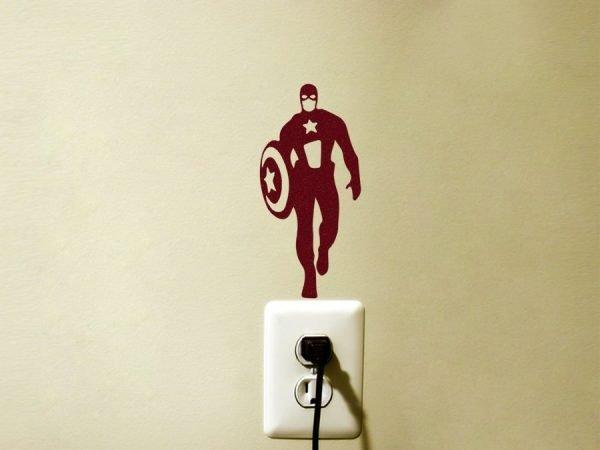 Avengers superhero decor