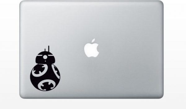 BB8 Droid macbook decal