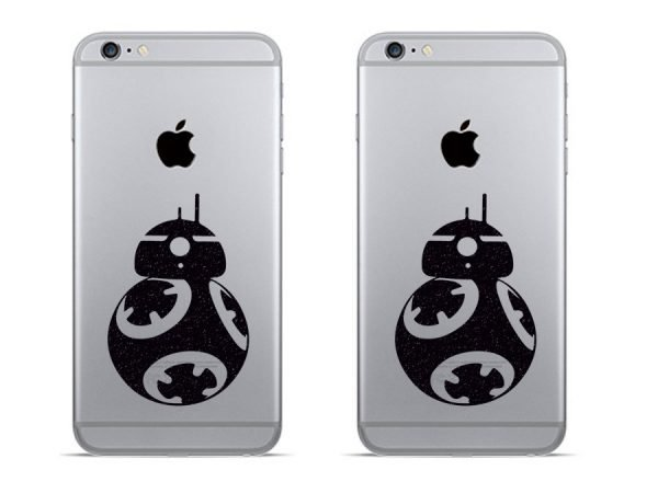 BB8 robot iPhone decals