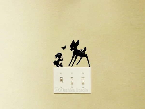 Bambi and Thumper wall sticker