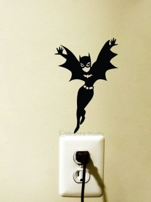 Batgirl Fabric Wall Sticker