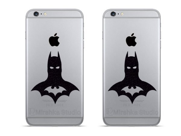 Batman logo dc comics iPhone decals