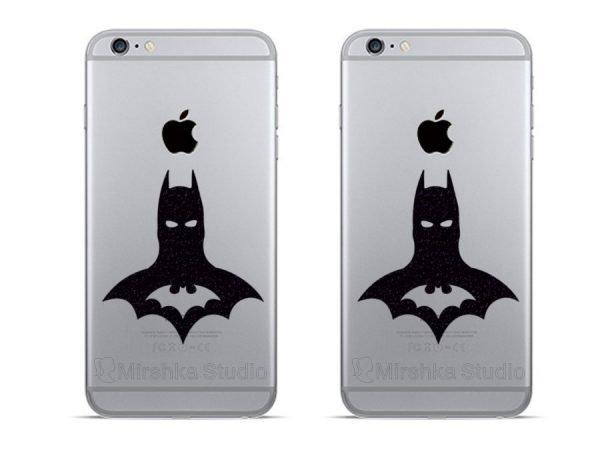 Batman logo dc comics iPhone decals