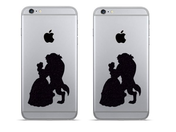 Beauty and the Beast iPhone stickers