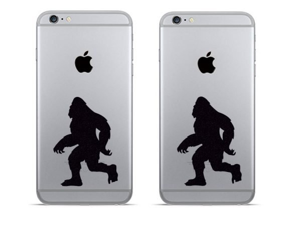 Bigfoot iphone stickers