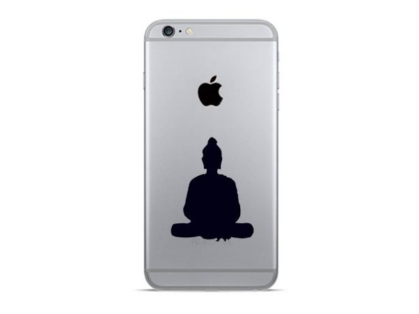 Buddha phone sticker