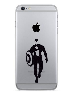 Captain America iphone decal