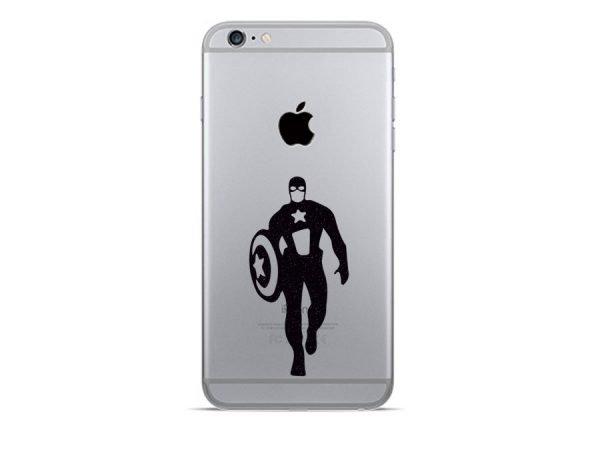 Captain America iphone decal