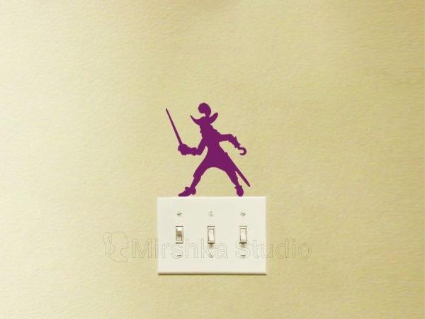 Captain Hook peter pan wall decal