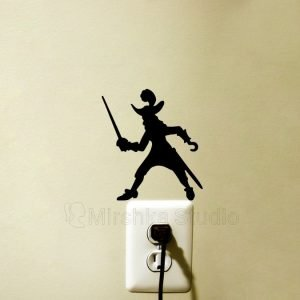 Captain Hook wall sticker