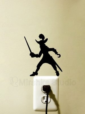 Captain Hook wall sticker
