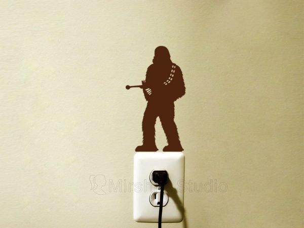 Chewie wall sticker