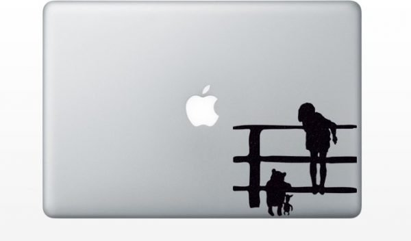 Christopher Robin mac decal