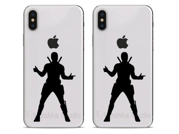 Deadpool Marvel iphone stickers