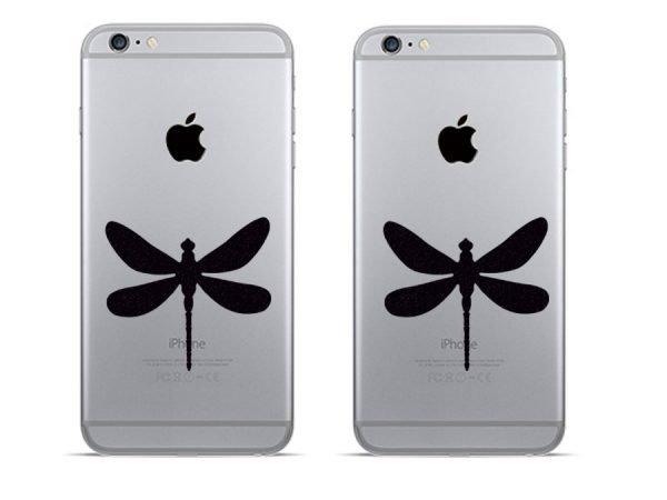 Dragonflies iphone decals