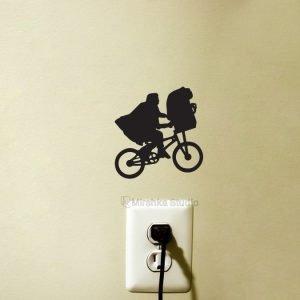 E.T on Bike sticker