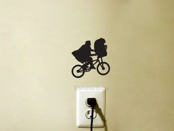 E.T on Bike sticker