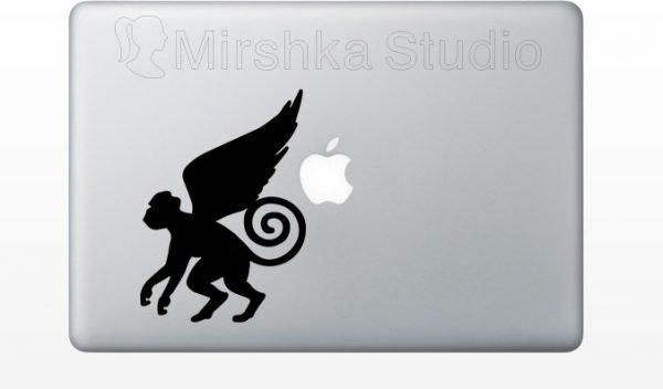 Flying Monkeys macbook decal