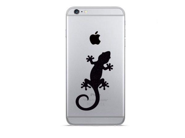 Gecko iphone sticker