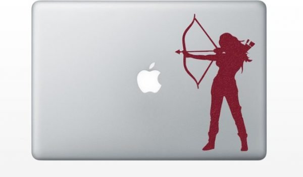 Hunger Games mac Decal