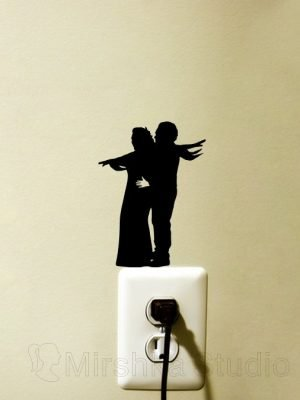 Jack and Rose Titanic sticker