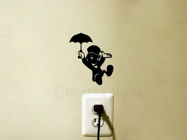 Jiminy Cricket wall sticker