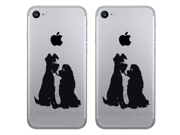 Lady and the Tramp decals