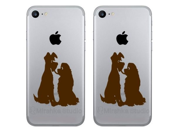 Lady and the Tramp phone decorations