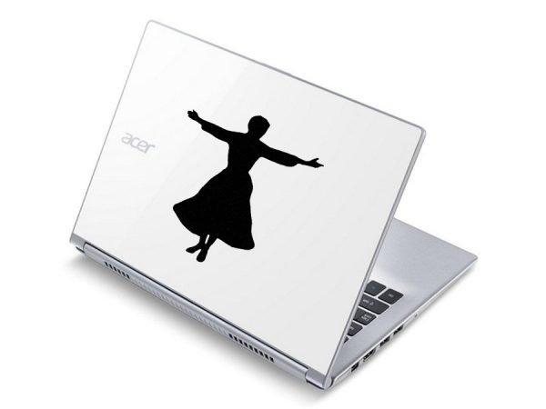Maria laptop decal