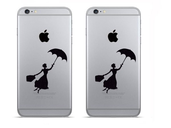 Mary Poppins iPhone decals