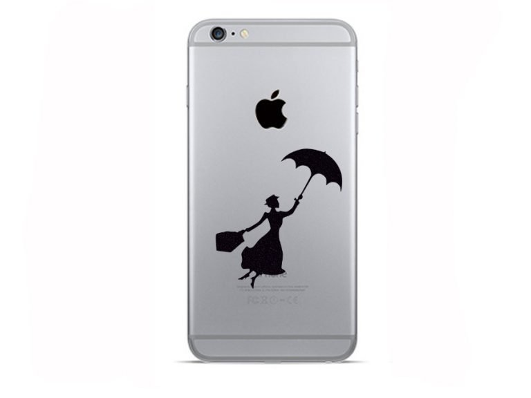 Mary Poppins iPhone sticker