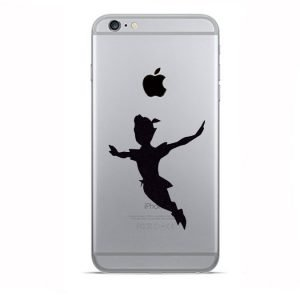 Peter Pan iPhone Sticker
