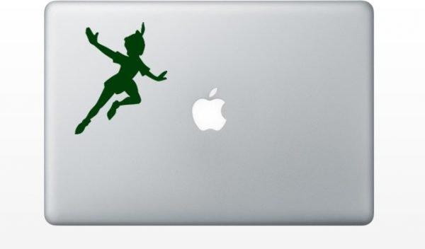 Peter Pan mac decal
