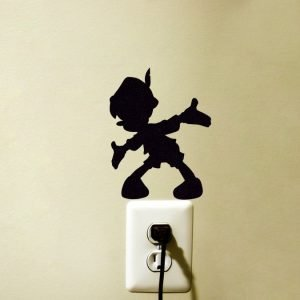 Pinocchio fabric wall sticker