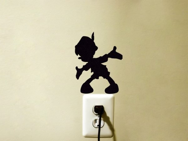 Pinocchio fabric wall sticker