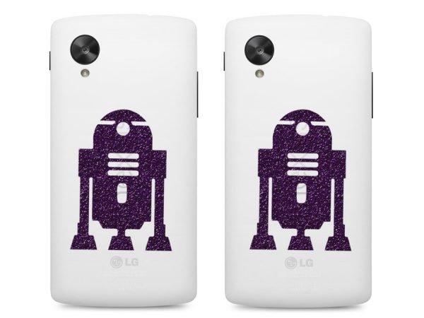 R2 D2 robot iPhone sticker