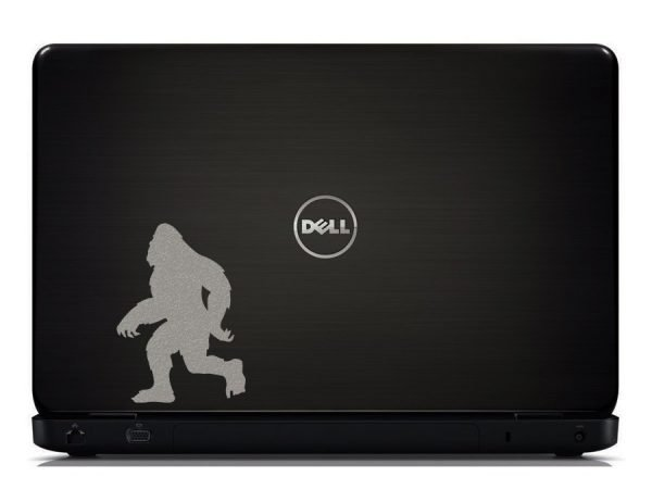 Sasquatch laptop decal