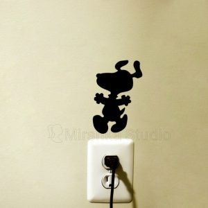 Snoopy Happy dance Wall Sticker