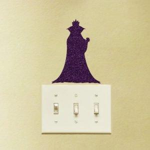 Snow White Evil Queen fabric sticker