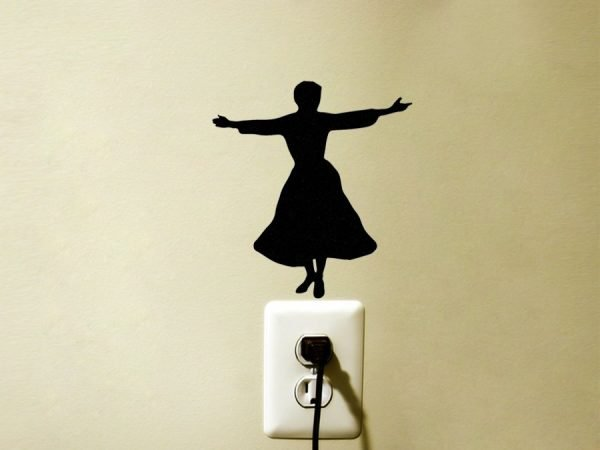The Sound of Music Maria wall sticker