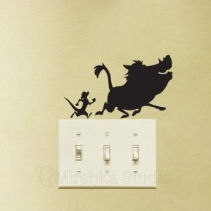 Timon and Pumbaa sticker