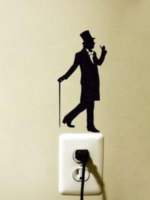 Willy Wonka Art sticker
