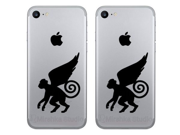 Wizard of Oz Flying Monkeys iphone stickers