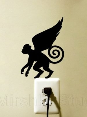 Wizard of Oz Flying Monkeys sticker
