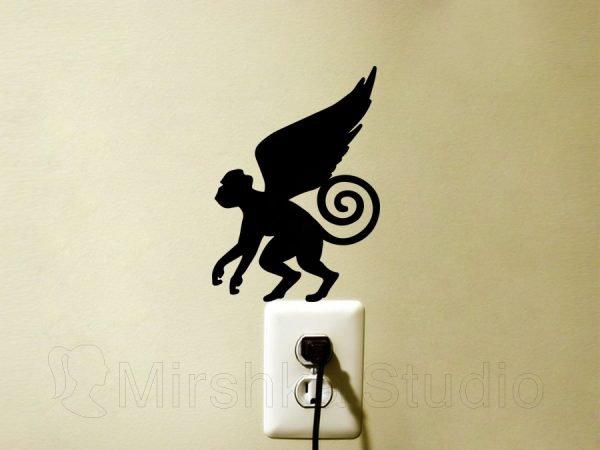 Wizard of Oz Flying Monkeys sticker